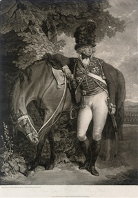 his royal highness george prince of wales by john raphael smith