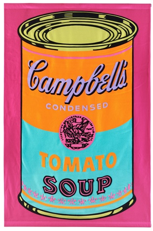 campbells tomato soup banner by andy warhol on artnet. Black Bedroom Furniture Sets. Home Design Ideas