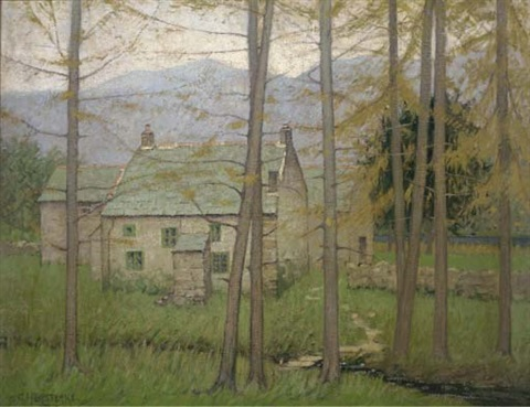 a woodland cottage by charles herbert eastlake