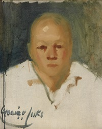 portrait study by george benjamin luks