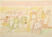 composition abstraite by eduard bargheer