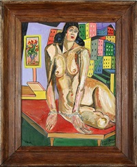 nude with chain by josef dubiel von lerach