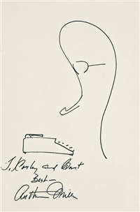self-portrait by arthur miller