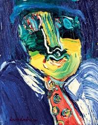 portrait de balzac by bengt lindström