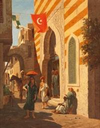 mosquée au caire by lieutenant long