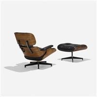 670 Lounge Chair And 671 Ottoman, 1956