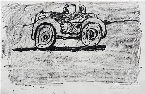 car by philip guston