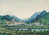 cisterzienserstift lilienfeld von norden by hans heideloff