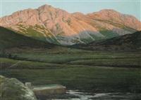 paesaggio montano by edoardo guazzoni