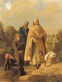 die junge witwe by nikolaj wassilijewitsch newreff