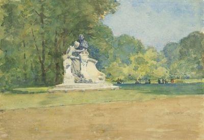 im park von versailles by robert weir allan