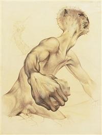 untitled (estudio para fresco) by guillermo meza