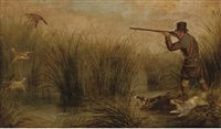 the duck shoot by h. s. cottrell
