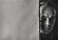 three portraits of györgy kepes by arnold newman