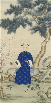 portrait d'une dame de cour by anonymous-chinese (19)