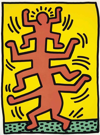 growing by keith haring