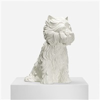 puppy (vase) by jeff koons