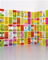 the singing posters, poetry sound collage, sculpture book (224 works) by allen ruppersberg