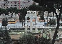 rome, via dei fori imperiali by stéphane couturier