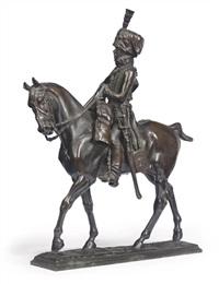 a hussar by pierre nicolas turgenov