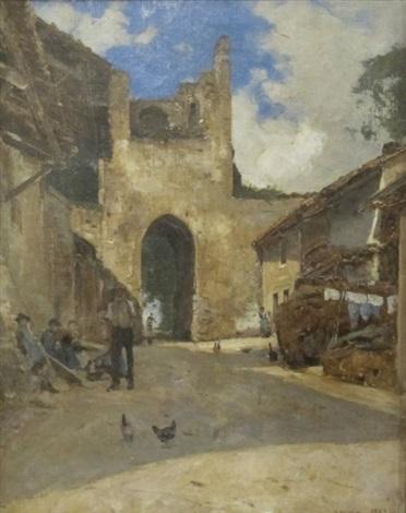 yvoire porte de nernier by francois louis david bocion