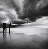 weather patterns, calais, france by michael kenna