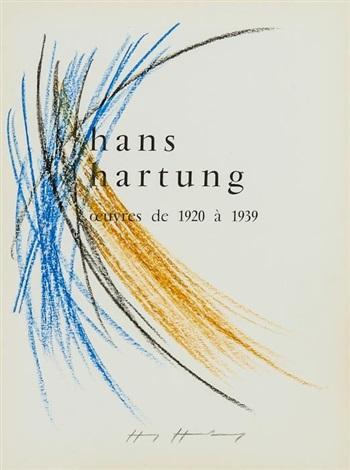 hans hartung oeuvres de 1920 a 1939 by hans hartung