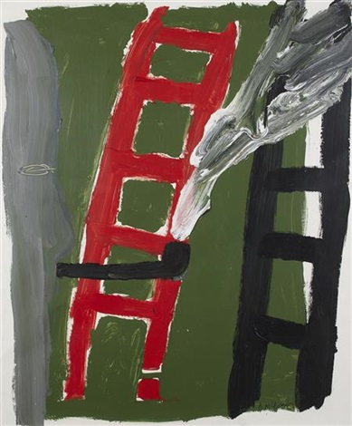 pipe and ladders by bruce mclean