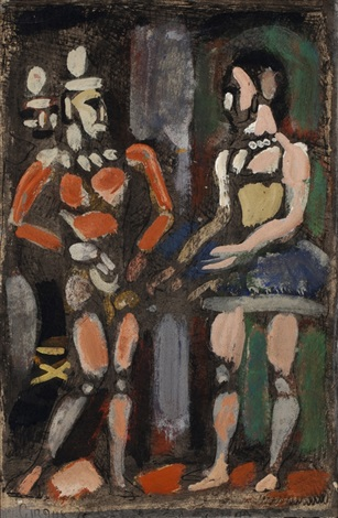 parade by georges rouault