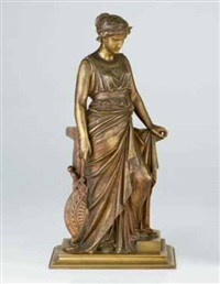 figura femminile dall'antico by léon pilet