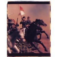 untitled (from wild west; 2 works) by david levinthal