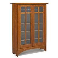 two-door bookcase by harvey ellis