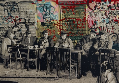 le bistro by mr brainwash