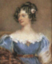mrs william walker, nee elizabeth reynolds (1800-1876) by eliza sharpe