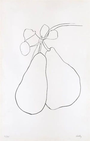 pear ii by ellsworth kelly