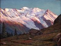 la chaîne du mont blanc by ange abrate