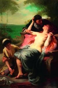le prince et la courtisane by françois edouard zier