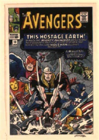the avengers no.12 by dick ayers