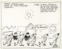 marche internationale contre les essais nucléaires français by reiser