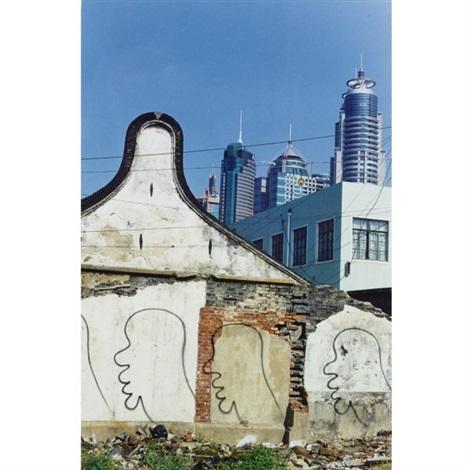 demolition series by zhang dali