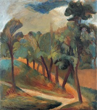 landscape by n. korzin