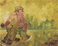 joueur de pétanque by heinrich ehmsen