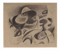 untitled by arshile gorky