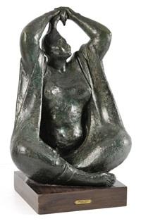 mujer peinandose by armando amaya