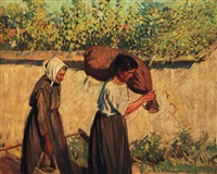 belgian peasants by helen galloway mcnicoll