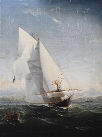 sailing ship by charles keith miller