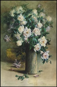 roses (no. 17) by florence carlyle