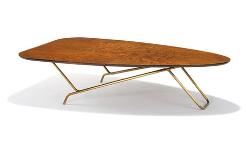 rare occasional table (model 6401) by greta magnusson grossman