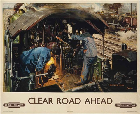 clear road ahead by terence cuneo
