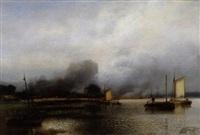 riviergezicht by jacob jacobs